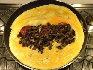 Omelette aux tomates : Photo de l'étape 11
