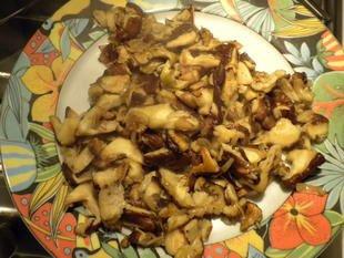 Emincé de poulet champignons-brocolis : Photo de l'étape 7