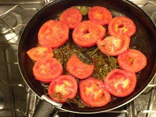 Oeufs aux tomates : Photo de l'étape 5