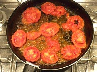 Oeufs aux tomates : Photo de l'étape 7