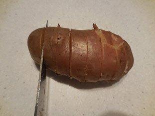 Pommes de terre en portefeuille : Photo de l'étape 5