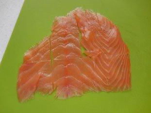 Pommes de terre au saumon fumé : Photo de l'étape 2