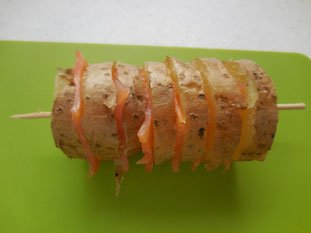 Pommes de terre au saumon fumé : Photo de l'étape 4
