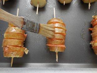 Pommes de terre au saumon fumé : Photo de l'étape 6