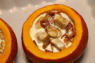Stuffed pumpkin gratin : Photo of step #10