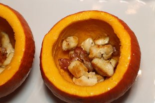 Stuffed pumpkin gratin : Photo of step #7