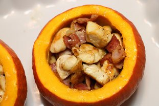 Stuffed pumpkin gratin : Photo of step #9