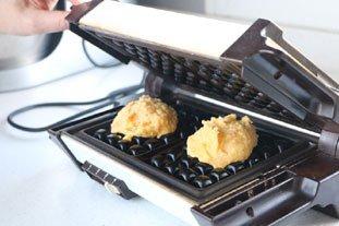 Gaufres de pommes de terre au saumon fumé : Photo de l'étape 7