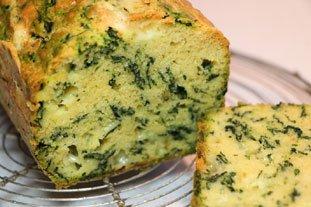 Cake aux épinards et au Comté : Photo de l'étape 9