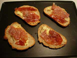 Tartines à l'Époisses : Photo de l'étape 5