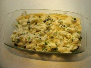 Gratin de pommes de terre et brocolis : Photo de l'étape 4