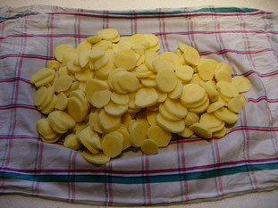 Gratin de pommes de terre : Photo de l'étape 1