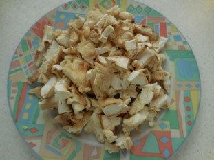 Gratin de céleri et champignons : Photo de l'étape 5
