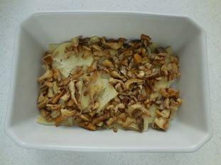 Gratin de céleri et champignons : Photo de l'étape 8