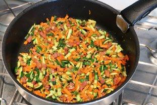 Clafoutis de légumes : Photo de l'étape 7