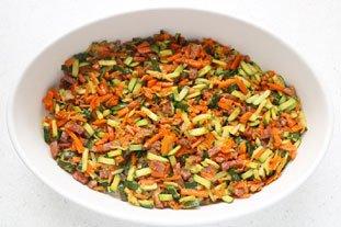 Clafoutis de légumes : Photo de l'étape 8