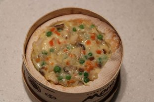 Baked Mont d'Or with diced mixed vegetables : Photo of step #8