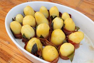 Pommes de terre lard et herbes : Photo de l'étape 26