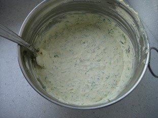 Pommes de terre au four, beurre ou crème aux herbes : Photo de l'étape 6