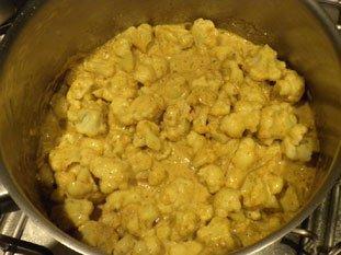 Curry de choux-fleur : Photo de l'étape 7