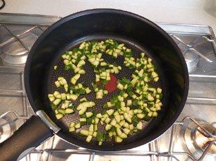 Sauté de légumes verts : Photo de l'étape 2