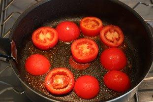 Oeufs tomates-courgettes : Photo de l'étape 5