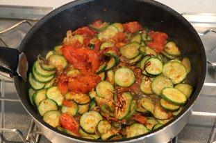 Oeufs tomates-courgettes : Photo de l'étape 8