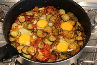 Oeufs tomates-courgettes : Photo de l'étape 9