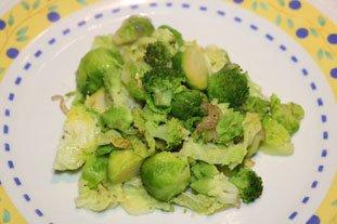 Poêlée de légumes verts : Photo de l'étape 6