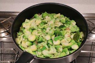 Poêlée de légumes verts : Photo de l'étape 5
