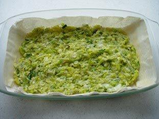 Tarte filo-poireaux-fromage : Photo de l'étape 11