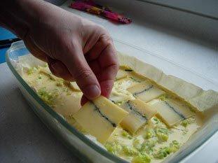 Tarte filo-poireaux-fromage : Photo de l'étape 13
