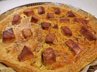 Tarte poireaux-thon frais : Photo de l'étape 11