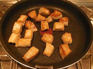 Tarte poireaux-thon frais : Photo de l'étape 3