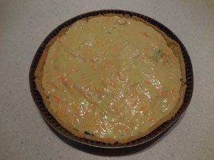 Tarte poireaux-mimolette : Photo de l'étape 6