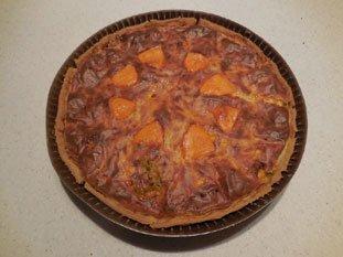 Tarte poireaux-mimolette : Photo de l'étape 8
