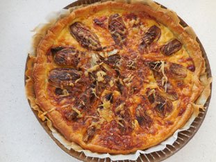 Tarte fine aux endives : Photo de l'étape 7