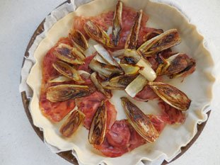 Tarte fine aux endives : Photo de l'étape 5