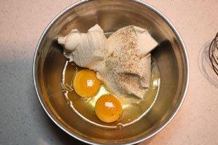 Fine tarte poireaux-artichauts à la piémontaise : Photo de l'étape 7