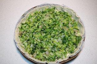 Fine tarte poireaux-artichauts à la piémontaise : Photo de l'étape 9