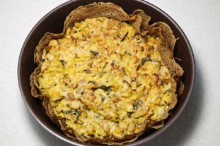 Tarte bretonne champignons et poireaux : Photo de l'étape 12