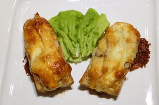 Tartines grillées de poulet à la crème de sésame : Photo de l'étape 26
