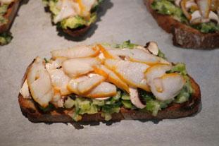 Tartines au haddock fumé et fondue de poireaux : Photo de l'étape 26