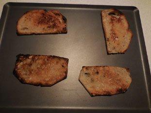 Tartine aux épinards et béchamel : Photo de l'étape 3