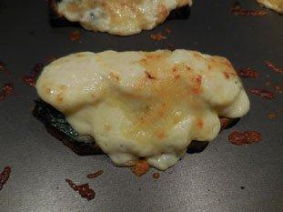 Tartine aux épinards et béchamel : Photo de l'étape 8