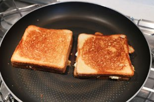 Grilled cheese : etape 25
