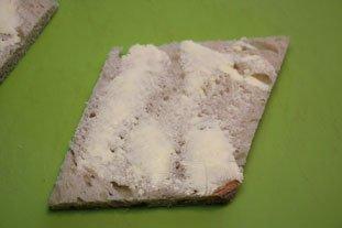 Tartines aux blancs de poireaux et oeuf mollet : Photo de l'étape 3