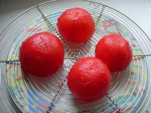 Tomates coccinelle : Photo de l'étape 3