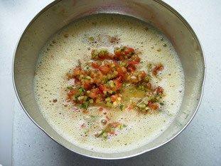 Petites omelettes aux légumes : Photo de l'étape 12