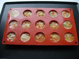Petites omelettes aux légumes : Photo de l'étape 13